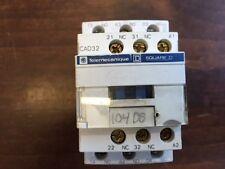 TELEMECANIQUE SQUARE D CAD32 10A 10amp 5 pole 120v coil