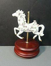 the san francisco music box company carousel horse 1995