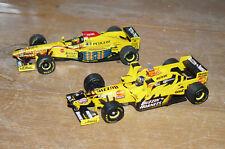 Jordan 197 / Schumacher u. Jordan 198 Towerwings / Hill / Minichamps 1:43