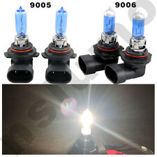 2set Combo 9006 9005 6000k White Xenon Hid Halogen Hi Low Beam Headlight Bulbs