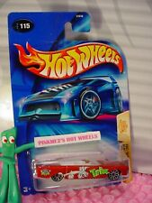 '64 LINCOLN CONTINENTAL #115✰orange;TRIX rabbit✰CEREAL CRUNCHERS✰2004 Hot Wheels