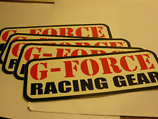 10 G-FORCE Racing Gear Stickers Promo Sticker Car Motorcycle Mechanic