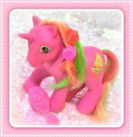 ❤️My Little Pony MLP G1 Vtg Tropical Ponies Hula Hula Sail-away Boat Unicorn❤️