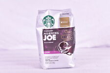 Starbucks Morning Joe Stout and Refined Dark Ground Coffee, 12oz