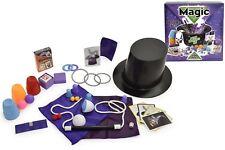 Deluxe 150 Magic Tricks Set Children Kids Magician Hat Rabbit Illusion Toy New