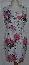 Linen Floral NEXT Midi Dresses for Women
