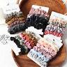 Women Silk Velvet Elastic Hair Bands Scrunchie Rubber Band Ponytail Holder