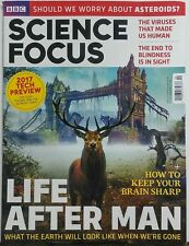 BBC Science Focus Feb 2017 Life After Man What Earth Look Like FREE SHIPPING sb