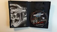Sony PlayStation 2 PS2 Need for Speed Underground 2  COMPLETE CIB - ACCEPTABLE