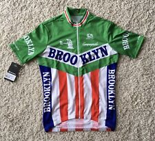 New Giordana Brooklyn SS Retro Italia Jersey Medium But Fits As A Large Ref:P24