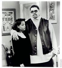 "1994 Vintage Photo actress Kim Fields & Heavy D filming ""Living Single"" TV Show"