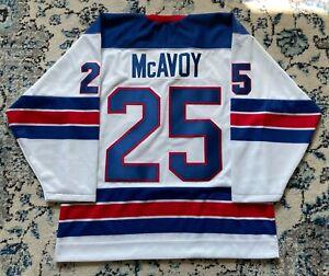 Charlie McAvoy Team USA World Junior Jersey Medium Large XL Hockey Boston Bruins
