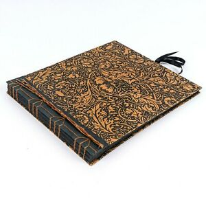 New Handmade Nature-Themed Photo Album Scrapbook 20 Thick Black Paper Pages