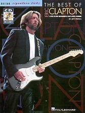 Guitar Signature Licks The Best of Eric Clapton Songs Solos Riffs Tab Book & CD