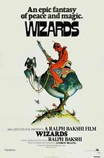 231986 WIZARDS 1977 MOVIE WILLIAM STOUT ARTWORK WALL PRINT POSTER FR