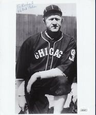 Red Faber signed Chicago White Sox baseball photo Jsa authenticated