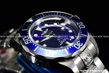 New Invicta Men's 47MM Grand Diver NH35 Automatic Solid End Links SS Blue Watch