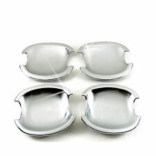 Accessories Chrome Door Handle Base Bowl Covers For 2002-2006 Toyota Camry Sedan