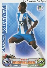 VALENCIA # ECUADOR WIGAN ATHLETIC VILLARREAL.CF CARD PREMIER LEAGUE 2009 TOPPS