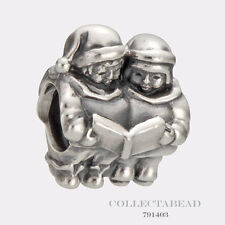 Authentic Pandora Sterling Silver Christmas Carolers Bead 791403