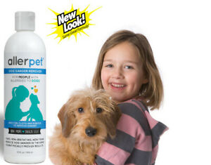 Allerpet Dog Dander Remover, 12 oz, Prevents Allergic Reactions from Dogs
