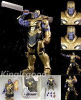 Anime Super Hero Marvel Avengers Endgame Thanos PVC Action Figure Gifts In Box