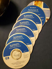 HP WINDOWS XP HOME SYSTEM RESTORE RECOVERY OPERATING SYSTEM DOCUMENTATION CD's