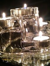 Mint: Party Lite Crystal Castle 5 Tier Tea Light Candle Holder Germany 2000s