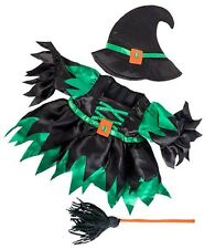 """Teddy Bear - Wicked Witch Outfit, fits 16"""" teddy mountain and Build a Bear"""