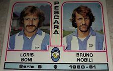 FIGURINA CALCIATORI PANINI 1980/81 PESCARA N° 456 ALBUM 1981