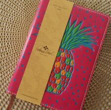 New ListingPatricia Nash Leather Journal Notebook Pineapple Pink Nwt