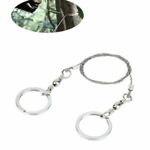 Steel Wire Saw Survival Camping Hiking Military Army Tool scouts Bushcraft