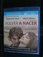 TWICE BORN all region BLU RAY+DVD VOLVER A NACER Penelope Cruz Emile Hirsch