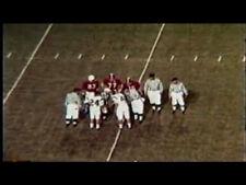 1968 Virginia Tech @ Alabama Regular Season DVD BRYANT CLAIBORNE   Free Shipping