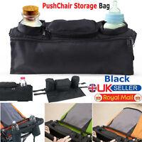 Baby Pushchair Pram Storage Bag Stroller Buggy Cup Bottle Food Holder Organiser
