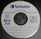 Single Verbatim Bluray BD-R 25GB Lifetime Archival M-Disc  Paper/Plastic Sleeve