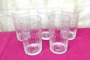 Impressionen Longdrinkglas-Set, 6-tlg. Blätterrankenverzierung Glas klar A1