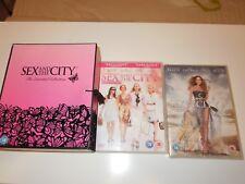 A Genuine Sex & The City Box Set Complete & Movies 1 & 2 Bundle Collection