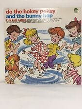 "Vintage Record Album ""Do the Hokey Pokey and the Bunny Hop"" Peter Pan Records"
