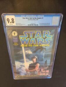 STAR WARS: HEIR TO THE EMPIRE #1 (1995) - CGC GRADE 9.8 - 1ST APP THRAWN