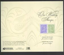 Scott #3999b Our Wedding Stamps Sheet  ( Face Value $20.40 )