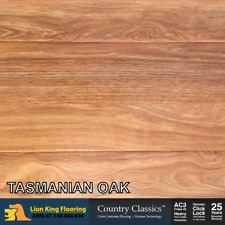 12mm Laminate Flooring/ Floating Floorboards Timber Look Easy DIY :Tasmanian Oak