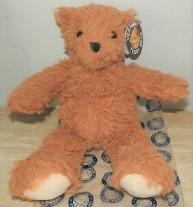 Vermont Teddy Bear Super Soft Floppy Bear In Almond Brown 13 inch Cuddly SOFT
