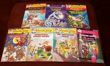 7 Geronimo Stilton & Thea Stilton books Haunted Dinosaur Scholastic Children