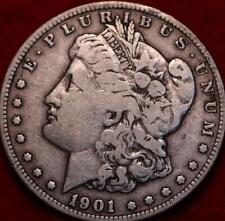 1901-S San Francisco Mint Silver Morgan Dollar