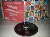 CD ONE WORLD - PETER GABRIEL - BOB MARLEY - GIPSY KINGS - KALI