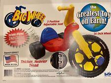 "The Original Big Wheel 16"" Boys Trike, with Optinal Clicker - Made in USA"