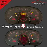 Audi A3 S3 8L FIS Display MFA Pixelfehler Reparatur Tacho Kombiinstrument defekt