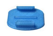 Adhesive Flat Mount f. GoPro Go Pro HD HERO 1, 2, 3 Zubehör Klebe Pad Blue