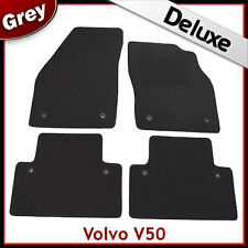 Volvo V50 2004-2011 Tailored LUXURY 1300g Car Mats GREY